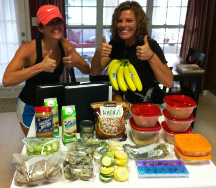Food prep! A must in order to guarantee results! By Whitney Carlson