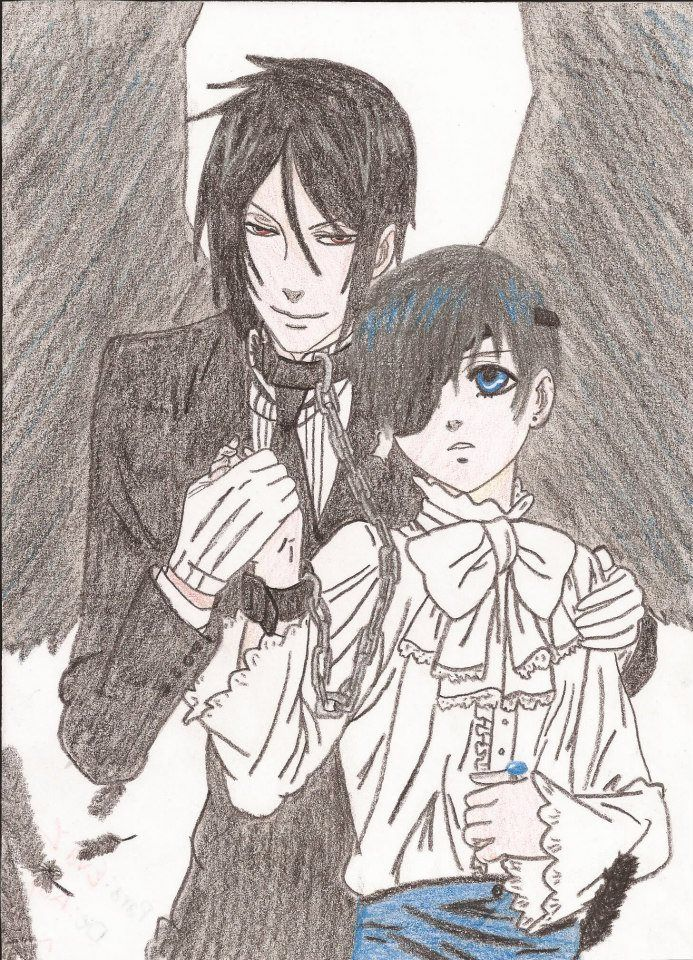 ~ Kuroshitsuji (黒執事) ~  ¬ Sebastian Michaelis (セバスチャン・ミカエリス)  ¬ Ciel Phantomhive ( シエル・ファントムハイヴ)