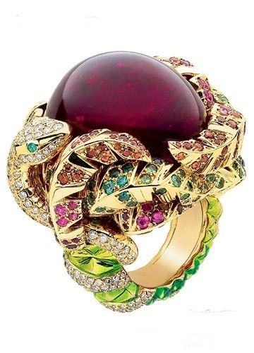 Victoire de Castellane for Dior Fine Jewelry Rings 2010 New Creation