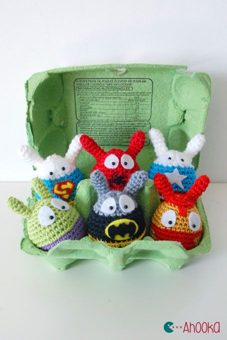 Easter Superheroes are back : Avengers vs DC Comics [crochet ...