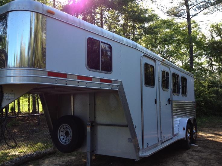 My Featherlite Horse Trailer Horse trailers, Horse