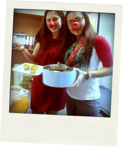 Red Nose Day 2013 – Behind the scenes with Simply Supplements