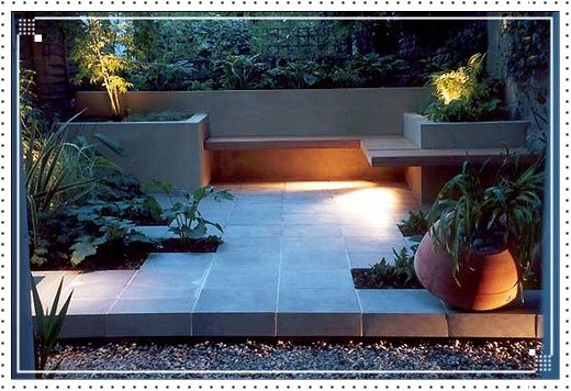 Minimalis garden