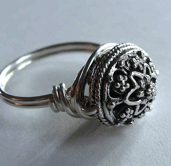 Victorian poison ring