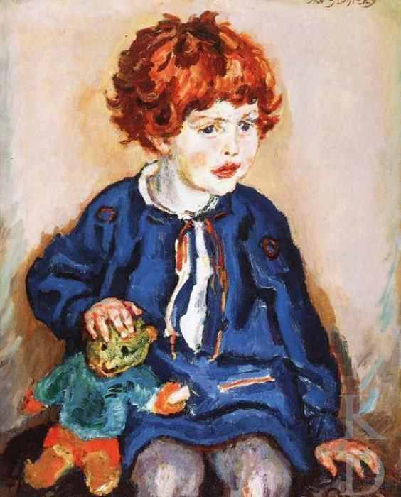 Jan Sluijters Girl with a toy