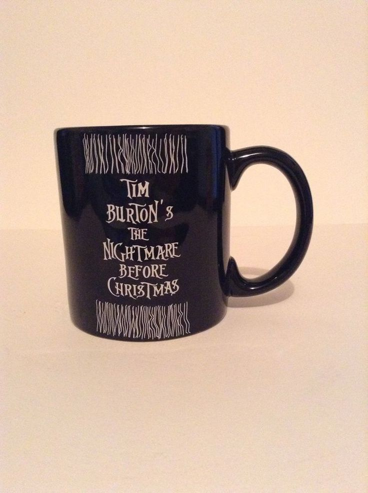 Touchstone Pictures Tim Burton's Nightmare Before Christmas Coffee Cup Mug