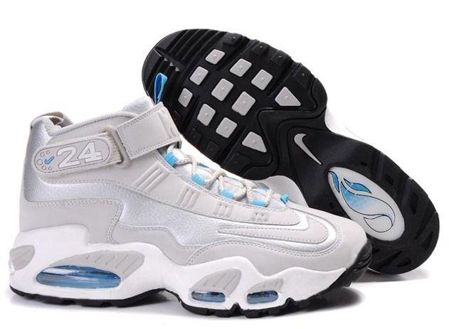 Nike Ken Griffen Max Mens Shoes 2014 Grey Blue