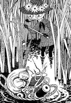 Tove Jansson, Little My and Snufkin