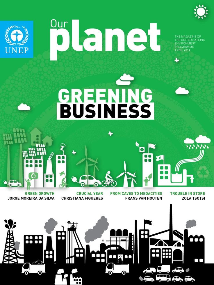 ISSUU - Our Planet: Greening Business by United Nations Environment Programme