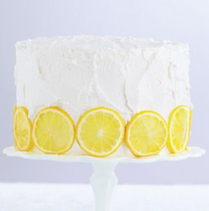 Have you ever seen a more gorgeous cake? Vanilla Sponge Cake with Lemon Filling is a stunning 3-layer cake with lemon curd between each layer. It's frosted with whipped cream and studded with lemon slices. It's a showstopper!