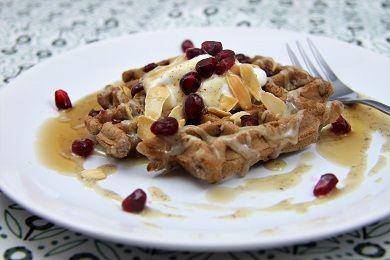 Jednoduché nízkosacharidové vafle /Simple low saccharide waffles/ Zdravé, nízkosacharidové, bezlepkové recepty. (Healthy, low carb, gluten free recipes.)