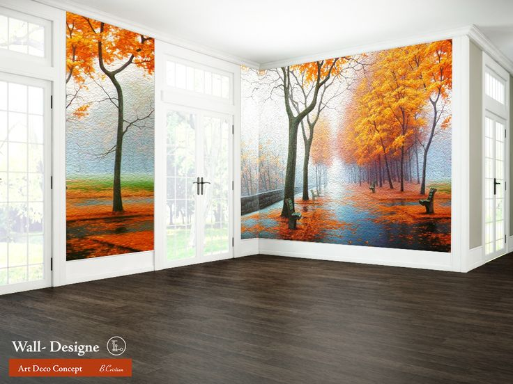 Autumn Colors Wall - Designe