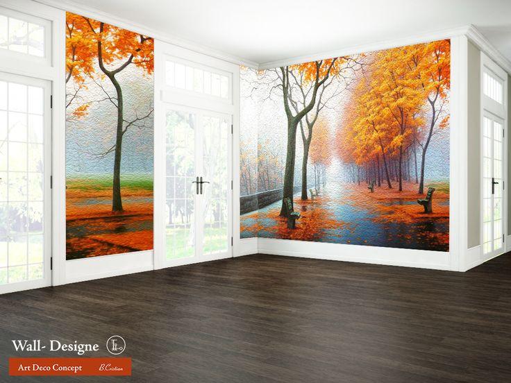 Autumn Colors Wall - Designe