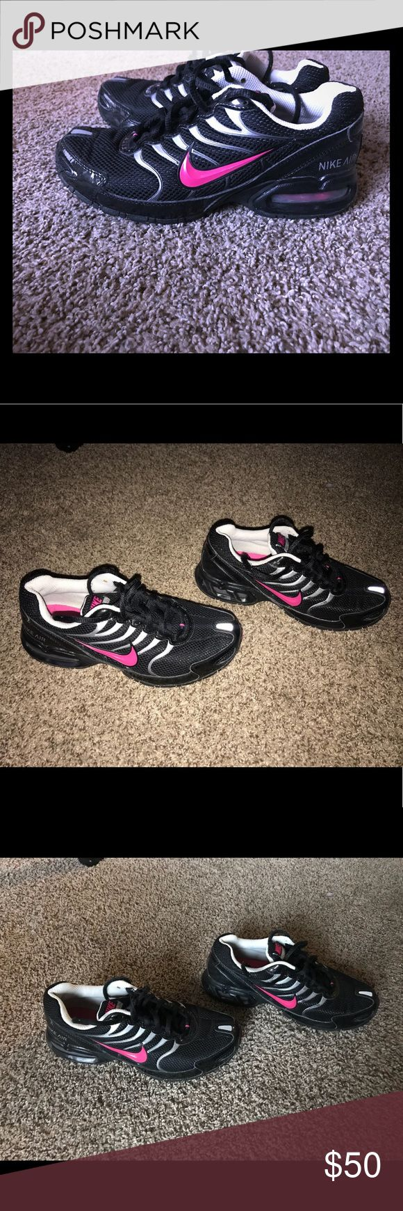 Nike Air Max Torch 4 EUC Nike Air Max Torch 4 Running Shoe Black/Pink Excellent used condition. Pet free and smoke free home. Nike Shoes Athletic Shoes