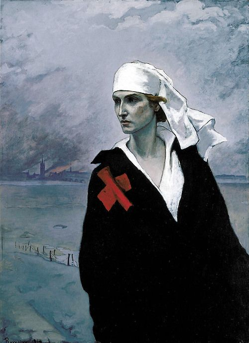 romaine brooks (1874-1970) - the cross of france - 1914