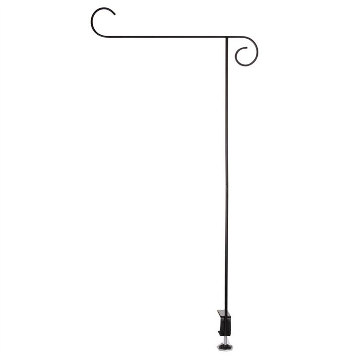 Railing Mount Garden Flag Stand