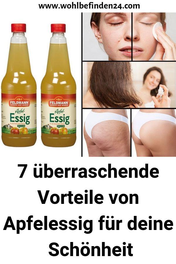 7 überraschende Vorteile von Apfelessig für deine Schönheit #schönheit #G…