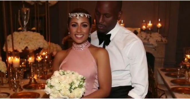 Tyrese Gibson's new wife's name is revealed in this article.