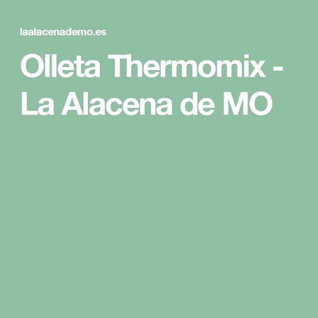 Olleta Thermomix - La Alacena de MO