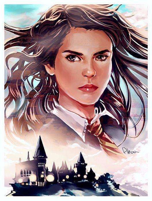 Harry Potter fan art. Athena-chan