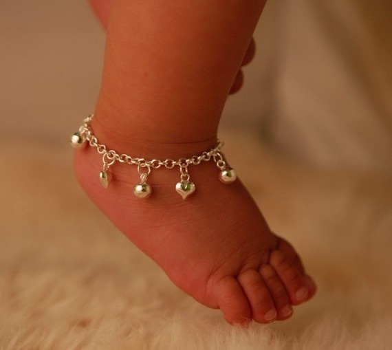 31 Best Baby Anklets Images On Pinterest Baby Jewelry
