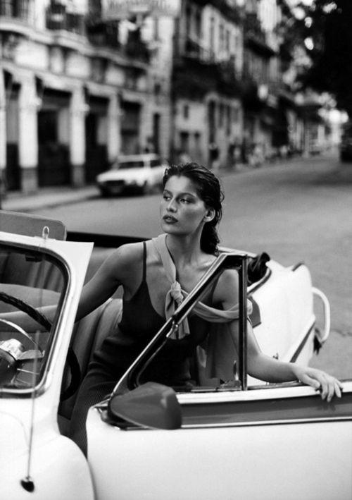 Laetitia Casta Paris, France, Black and White, Photography, Travel, Beauty, Inspiration x