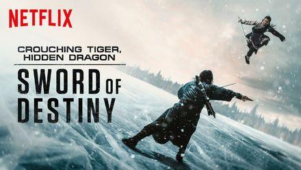 "Check out ""Crouching Tiger, Hidden Dragon: Sword..."" on Netflix"