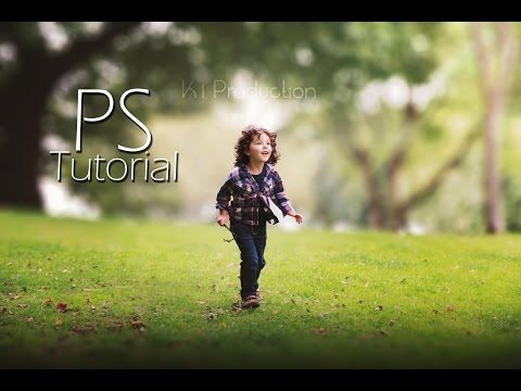 Photoshop Tutorial : How to Edit Outdoor Portrait ( Blur Background ) - YouTube