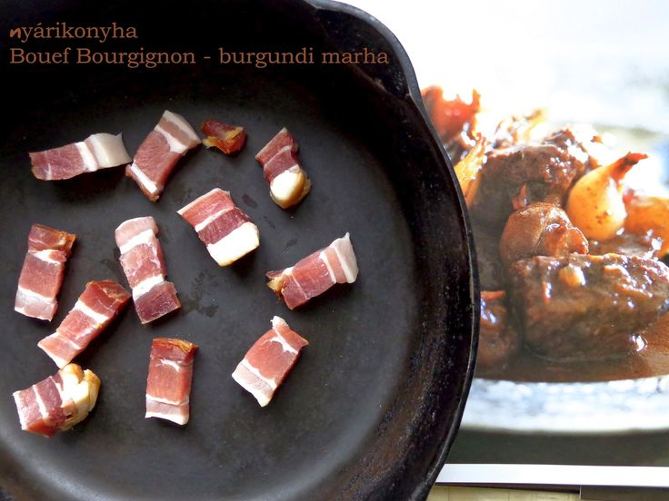 nyárikonyha: Burgundi marharagu - Bouef Bourgignon