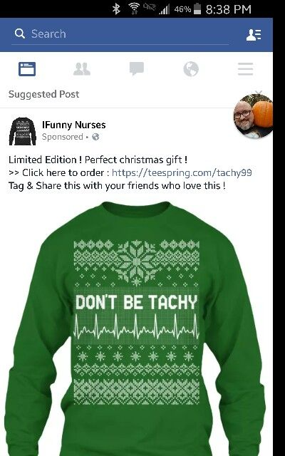 don t be tacky sweater