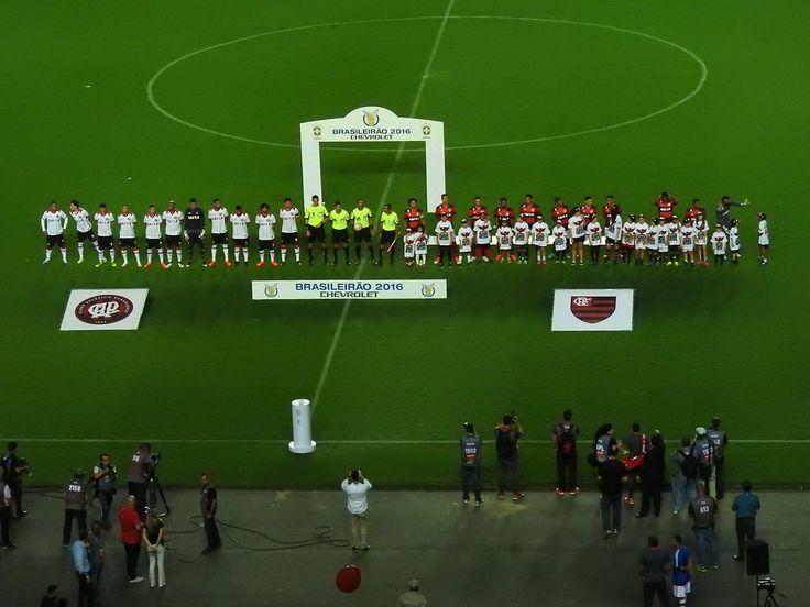 Campeonato Brasileiro 2016 no globoesporte.com - acompanhe tudo sobre Flamengo x Atlético-PR: escalação, informações sobre o jogo, fotos e muito mais