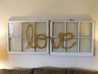Threadpaperscissors Window Pane Wall Decor Tutorial How