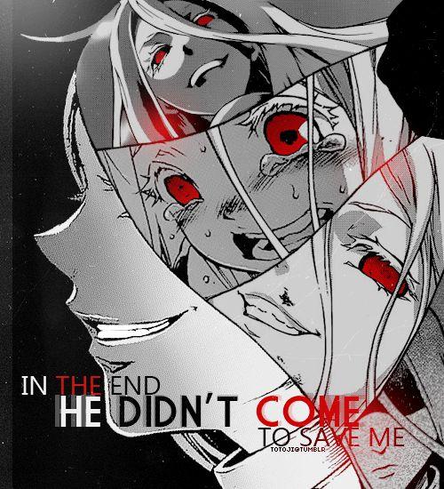 Shiro ~ In The End #DeadmanWonderland #Shiro
