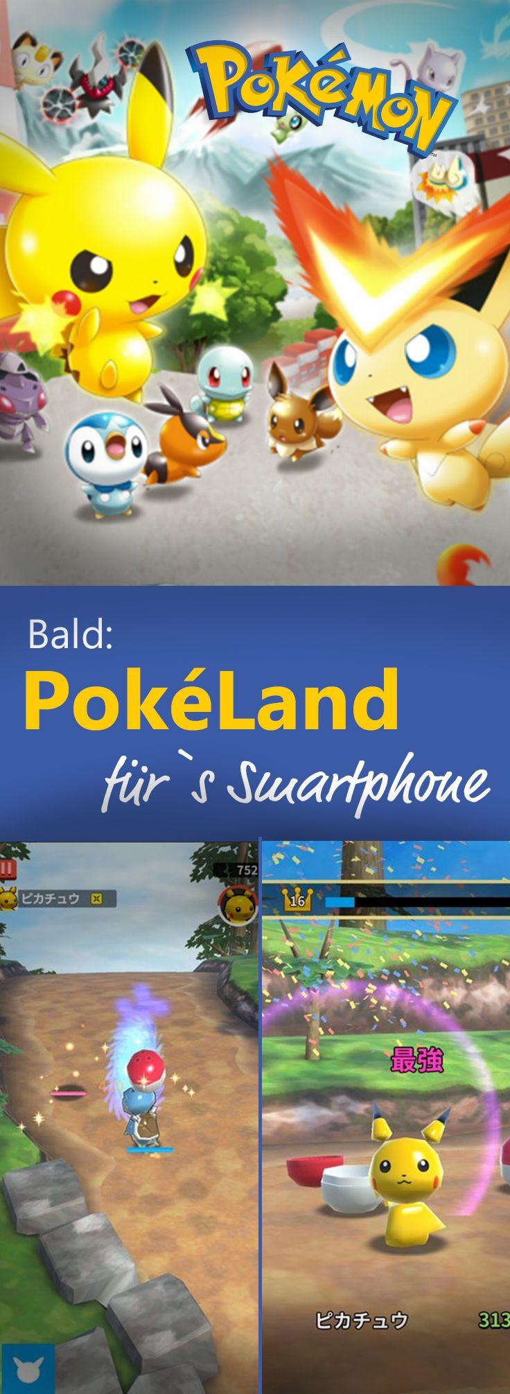 Nach Pokémon GO folgt nun PokéLand, ein neuer Action-Ableger für das Smartphone!