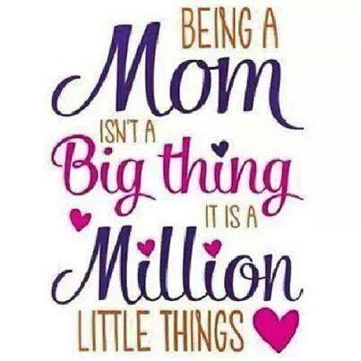 Being a mum