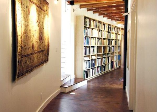 Decorating a Narrow Foyer | make your hallway look wider ideas to decorate long hallway decorate ...