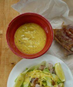 Cézár saláta grillcsirkével Reg-enor kúra recept