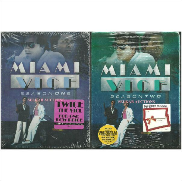 Miami Vice TV Series - Seasons 1 & 2 6-Disc Set DVD New in shrink wrap with tags 025193156822 on eBid Canada