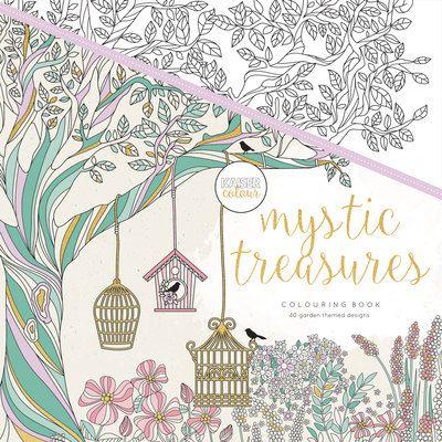 Mystic Treasures Coloring Book O KaiserColour Perfect Bound Colouring