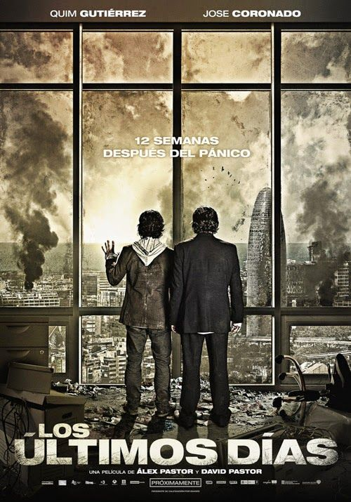 The Last Days ~ Stuck at the office? They've been there for months. Going out for some fresh air will get you killed. Highly recommending this Spanish film #netflix