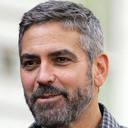 Crew Cut with Beard For Mature Men