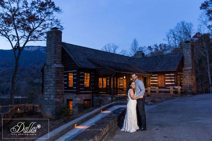 Bride and Groom at Table Rock Lodge, Pickens, South Carolina http://dallaslovephotography.com/?p=13110