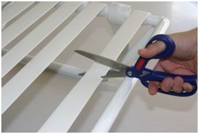 How To Install Double Wrap Vinyl Strap On Outdoor Furniture