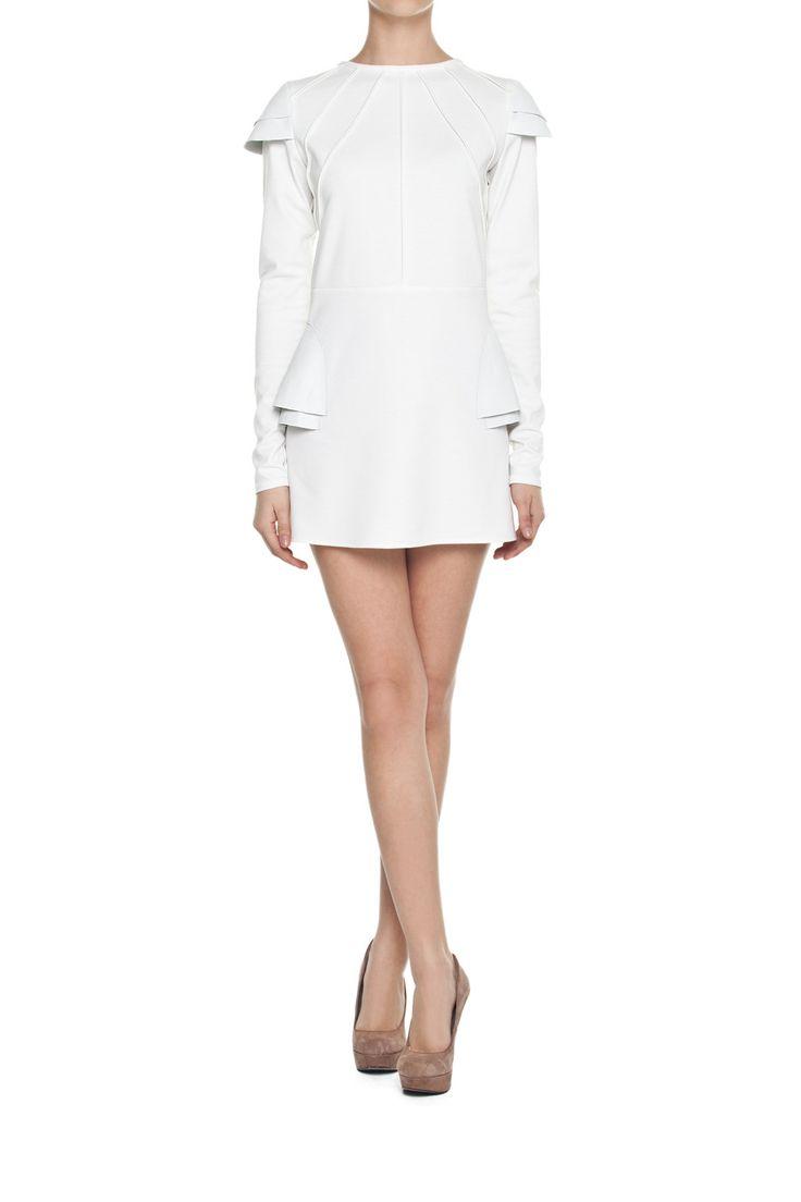 Sukienka NEO ARMOUR THE WHITE | Ubrania \ Sukienki \ Mini Ubrania \ Sukienki \ Koktajlowe Ubrania \ Tuniki PROJEKTANCI \ Natasha Pavluchenko Ubrania \ Wszystkie ubrania Ubrania \ WIĘKSZE ROZMIARY Sukienki Tuniki Wszystkie ubrania | MOSTRAMI.PL