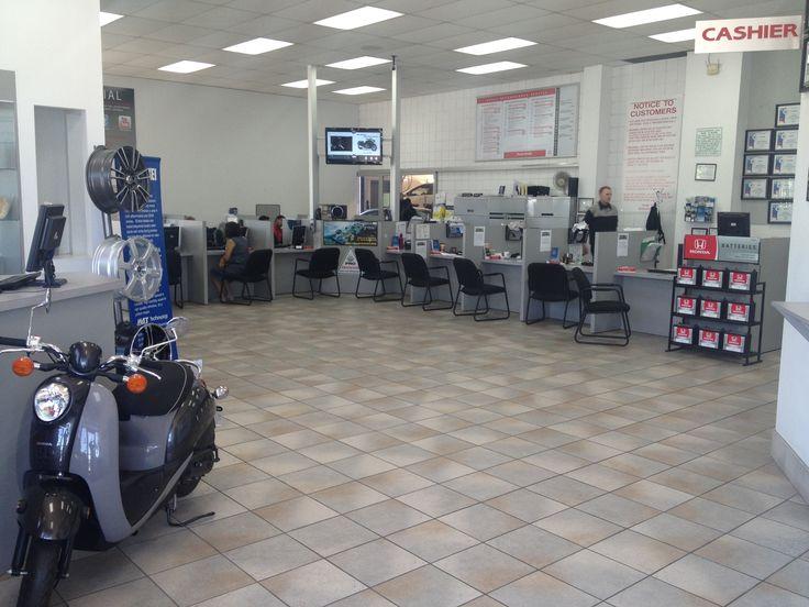 Ready #Honda #service department