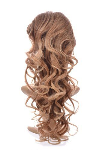 Ombre Long Curly Ponytail Hairpiece | Brown to Blonde Curly Ponytail by Ponytails and Accessories By Hair By MissTresses. $35.00. This season's trendiest hair colour: Ombre Brown to Blonde | Long Curly Ponytail | Glamour in an instant. Part of the Hair By MissTresses Ponytails, Plaits and Hair Bun range. See our Amazon store for more details. Available in 11 other shades | Also available in a Curly and Straight Style. Internal Clips and Drawstring fastening fo...