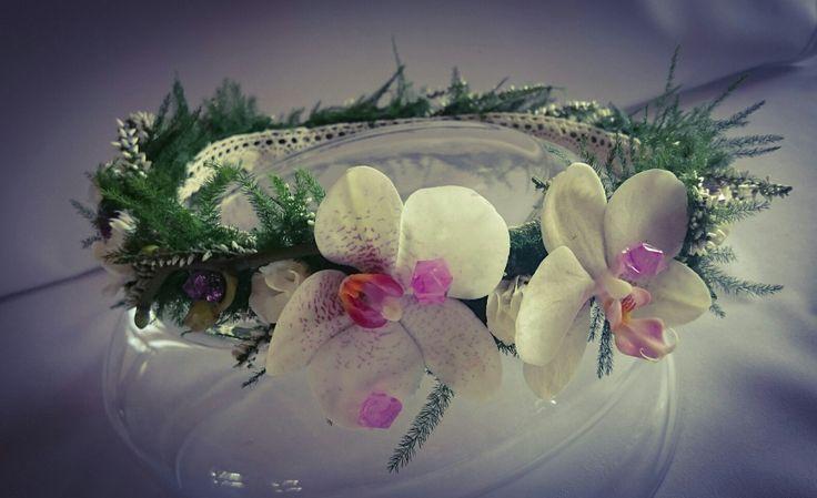 wianek ze storczykiem - Phalaenopsis