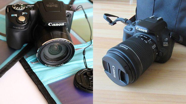 Erklärung Unterschied Bridge-Kamera und DSLR-Kamera