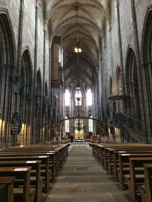 Ideal St Lorenz Church Nuremberg Germany The lovely medieval church