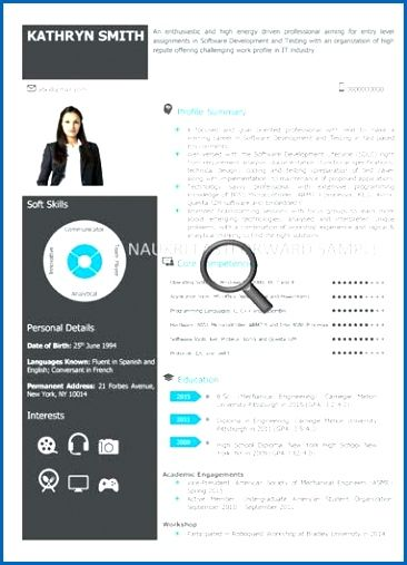 Visual Resume Templates Pinterest Cv template, Template and